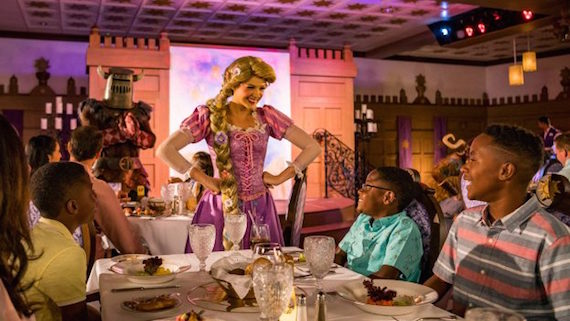 Catch A First Look At The New Rapunzel's Royal Table On The Disney Magic!