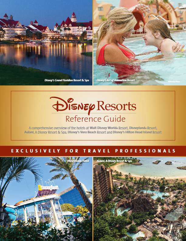 Disney Resorts Reference Guide for Travel Agents