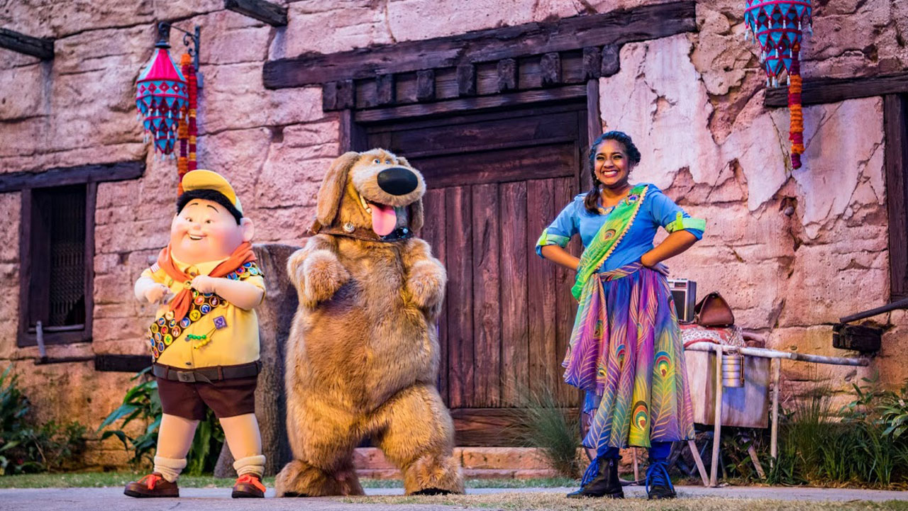 'UP! A Great Bird Adventure' Now Open at Disney's Animal Kingdom