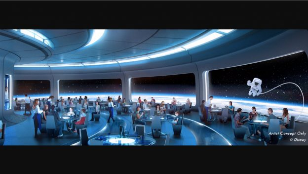 Location of Future New Epcot Space Themed Restaurant Announced