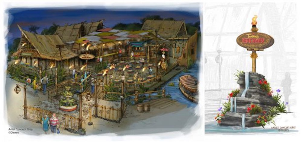 Something New Is Coming To Disneyland Park – What to Discover at The Tropical Hideaway !