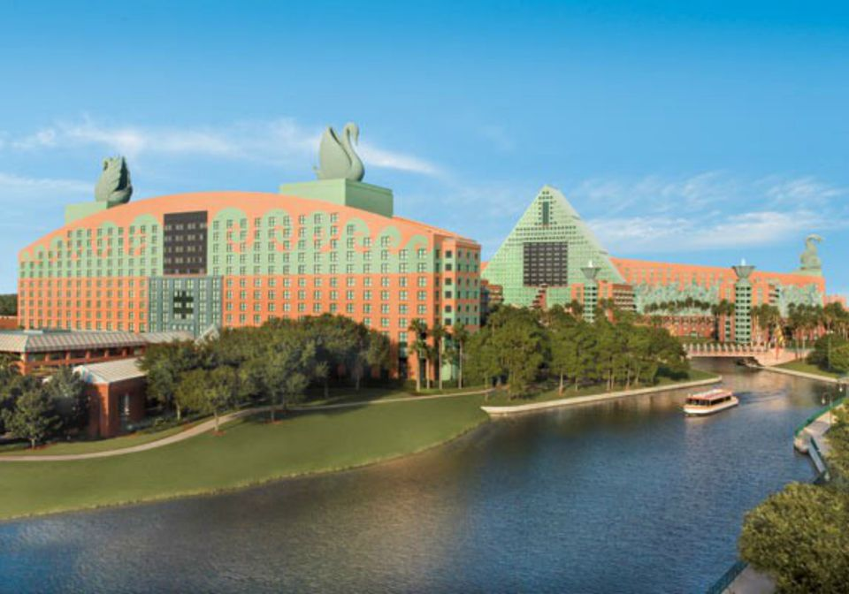 Check Out This Informative Photo Journey Around Disney's Swan & Dolphin Resorts!
