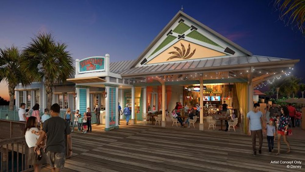 New Details Revealed for Dining Locations at Disney's Caribbean Beach Resort