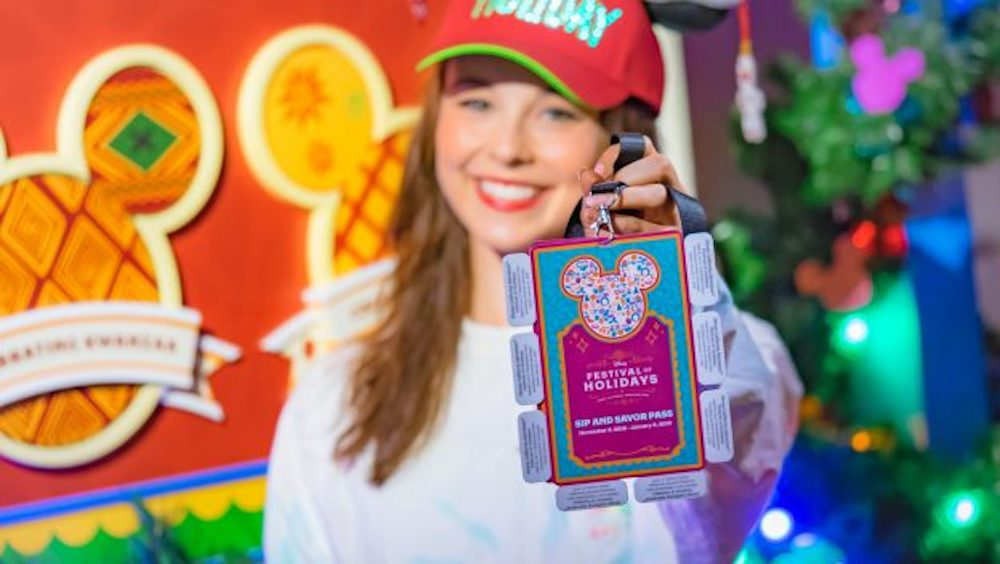 Experience the 2018 Disney Festival of Holidays at Disney's California Adventure Park with a Sip and Savor Pass !