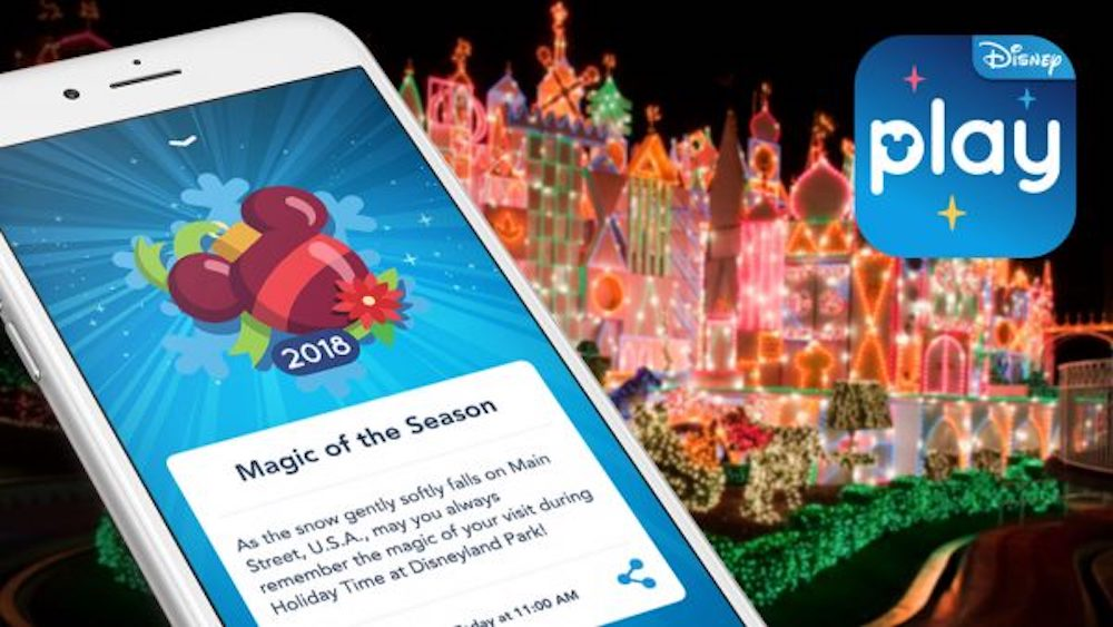 Ring In The Season with Play Disney Parks Holiday Fun !