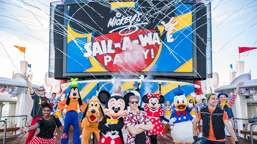 Get Your First Look at the New Mickey's Sail-a-Wave Party