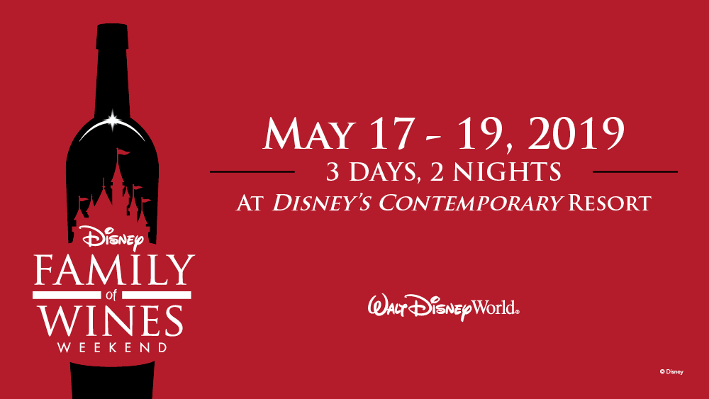Disney Family of Wines Weekend at Walt Disney World Resort