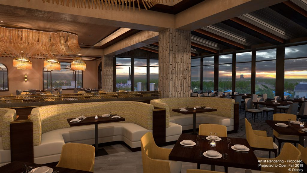 Inspiration for Signature Restaurant Coming to Disney's Riviera Resort