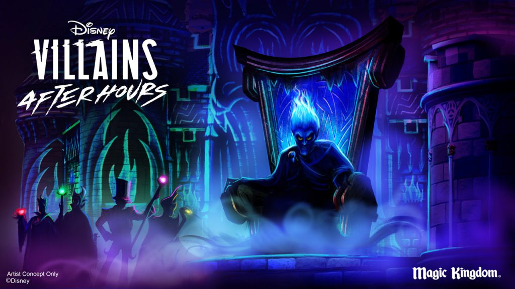 Experience 'Villains Unite the Night' and More During Disney Villains After Hours This Summer at Magic Kingdom Park