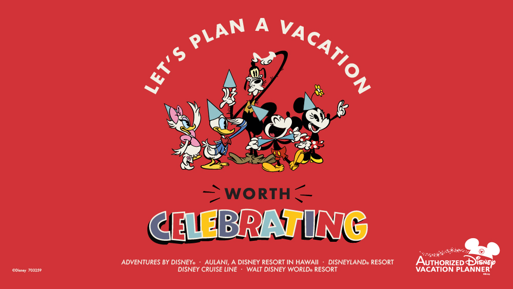 Let's Plan A Vacation Worth Celebrating !