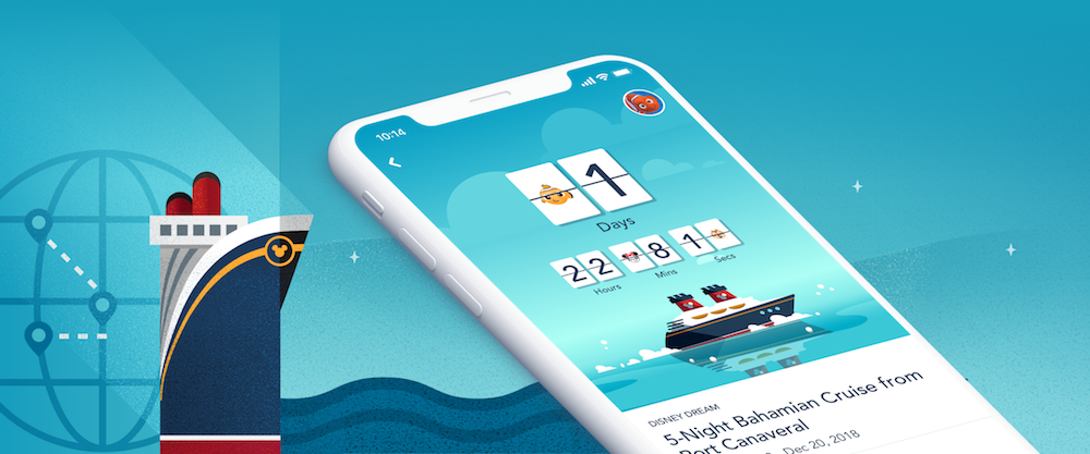 Disney Cruise Line Navigator App At Home Features