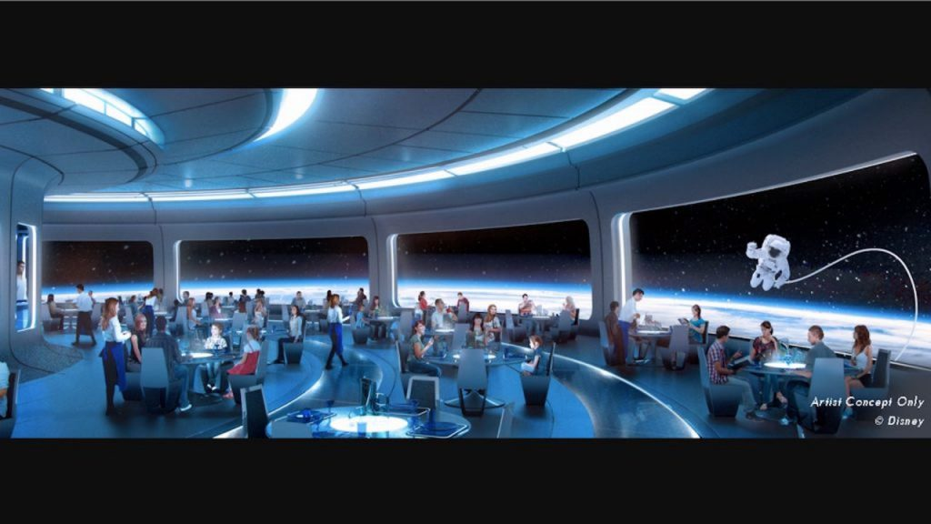 New Details About Space-Themed Restaurant Coming to Epcot
