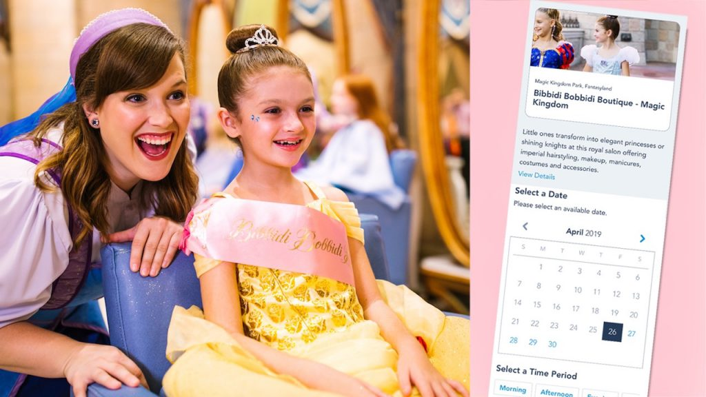 Online Reservations Now Available for Magical Experiences at Walt Disney World and Disneyland Resorts