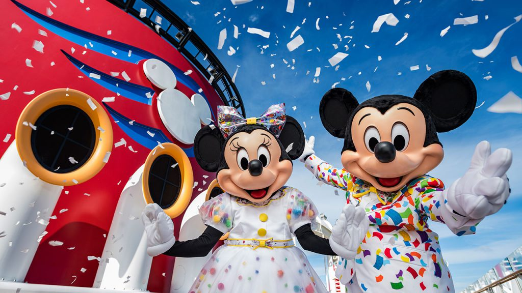 Mickey and Minnie's Surprise Party at Sea Kicks Off This Week