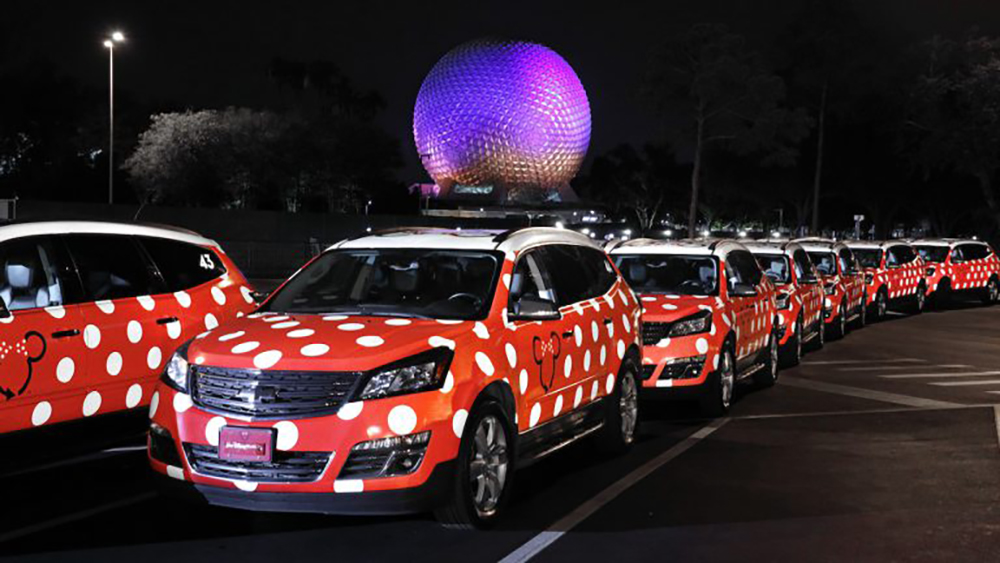 Disney Minnie Van Service Celebrates Milestone; New Enhancements Coming as Lyft Becomes Official Rideshare at Disney Parks