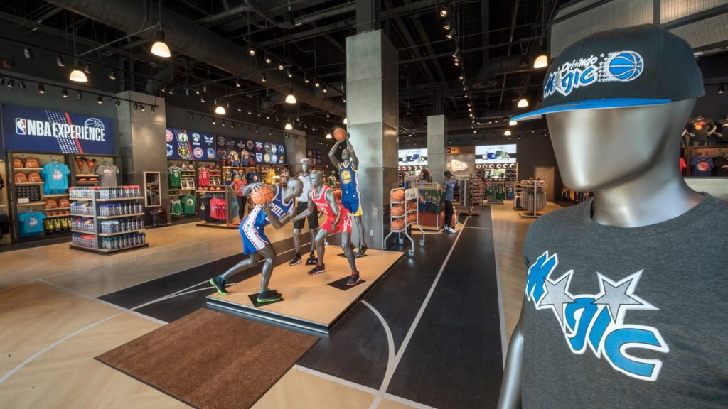 Get Ready for Gametime at Newly Opened NBA Store at Disney Springs