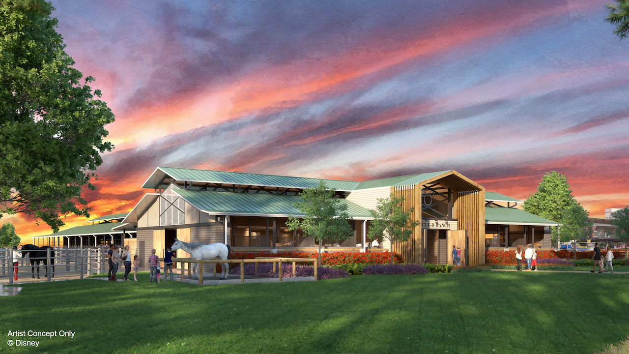 Horses at Disney's Fort Wilderness Resort & Campground To Receive Beautiful New Barn