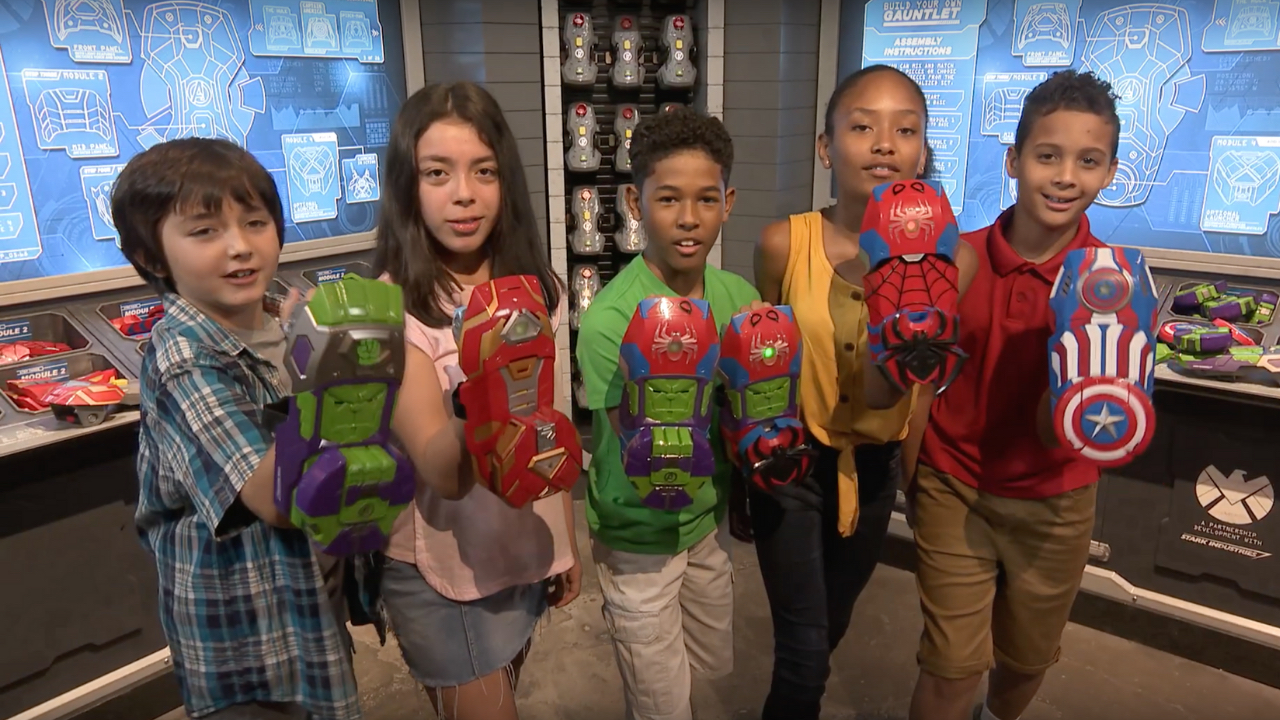 Custom Built Super Hero Gauntlet Now Available at Super Hero Headquarters in Disney Springs