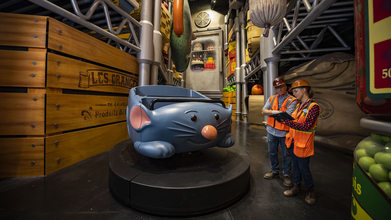 First Look: Inside Remy's Ratatouille Adventure at Epcot