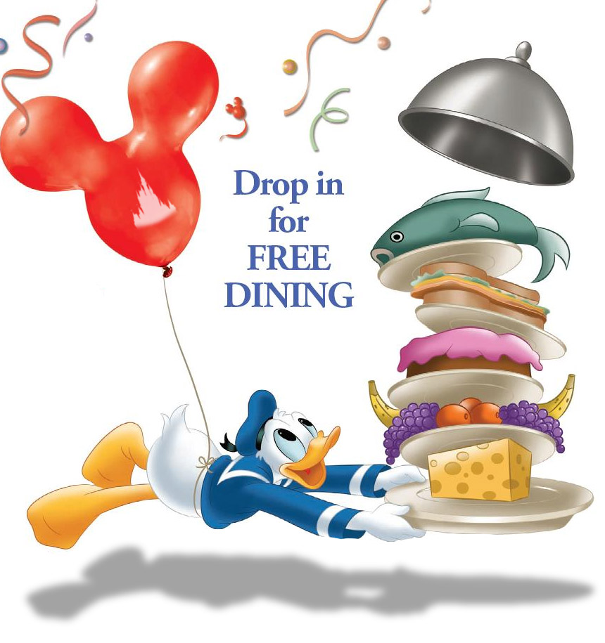A Free Delicious Offer For The Walt Disney World Resort