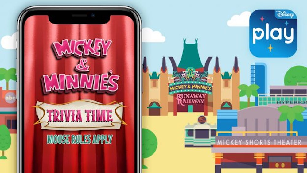 New Disney Parks App Game – Mickey & Minnie's Trivia Time – Mouse Rules Apply – Coming Soon!