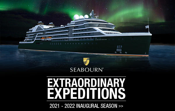 Now Open For Booking: Seabourn Venture 2021 – 2022 Inaugural Season!
