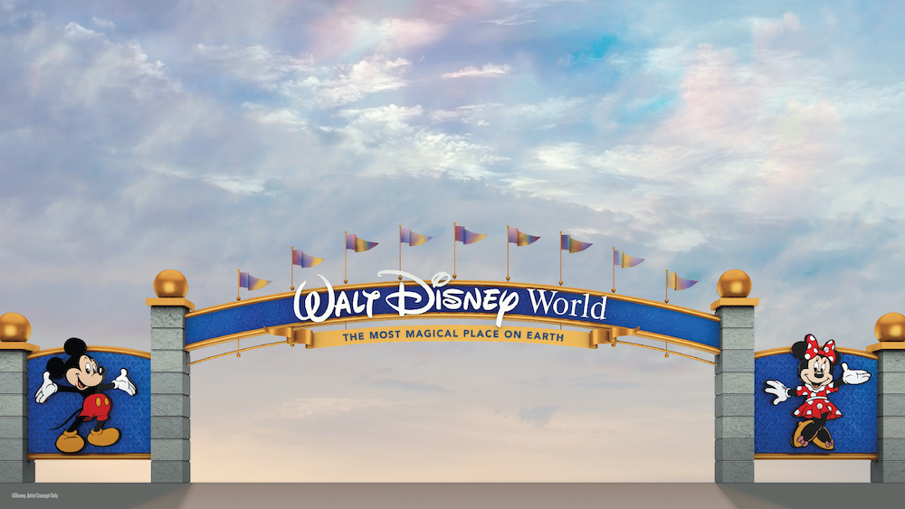 The Walt Disney World Resort Is Adding Some Fresh Pixie Dust To Its Entrances!