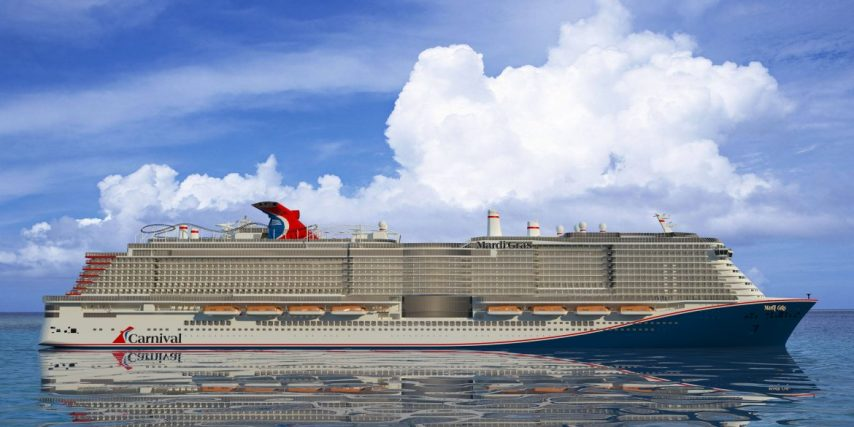 Carnival Cruise Lines Receives It's New Ship