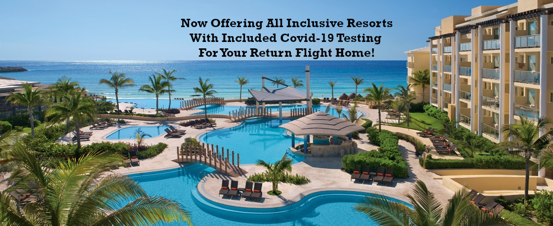 Palace Resorts, Le Blanc Spa Resorts, & AM Resorts Step Up To Assist Guests Adding Free Covid Testing To Packages!