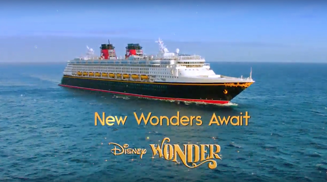 Now Available to Book – New Disney Cruise Line – Disney Wonder 2-Night Seattle Sailing
