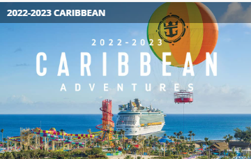 Royal Caribbean 2022-2023 Adventures Available For Booking Today!
